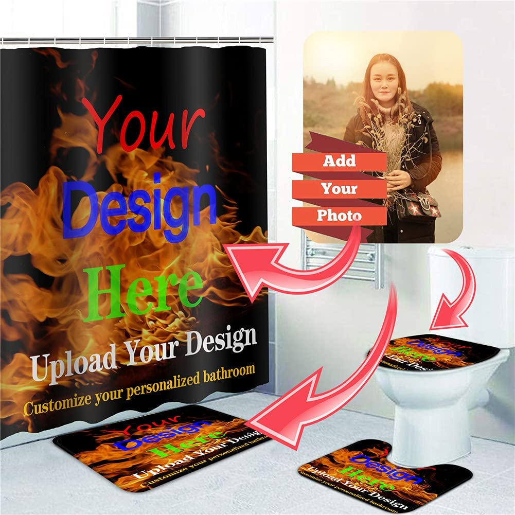 DIY Personalized Custom Bathroom OFFicial site Sets Ru Curtain Shower All stores are sold and with