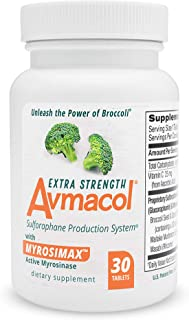 Sponsored Ad - Avmacol Extra Strength Sulforaphane Production System for Immune Support, 30 Tablets