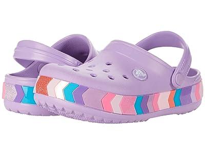 Crocs Kids Crocband Chevron Beaded Clog (Toddler/Little Kid/Big Kid) Girl