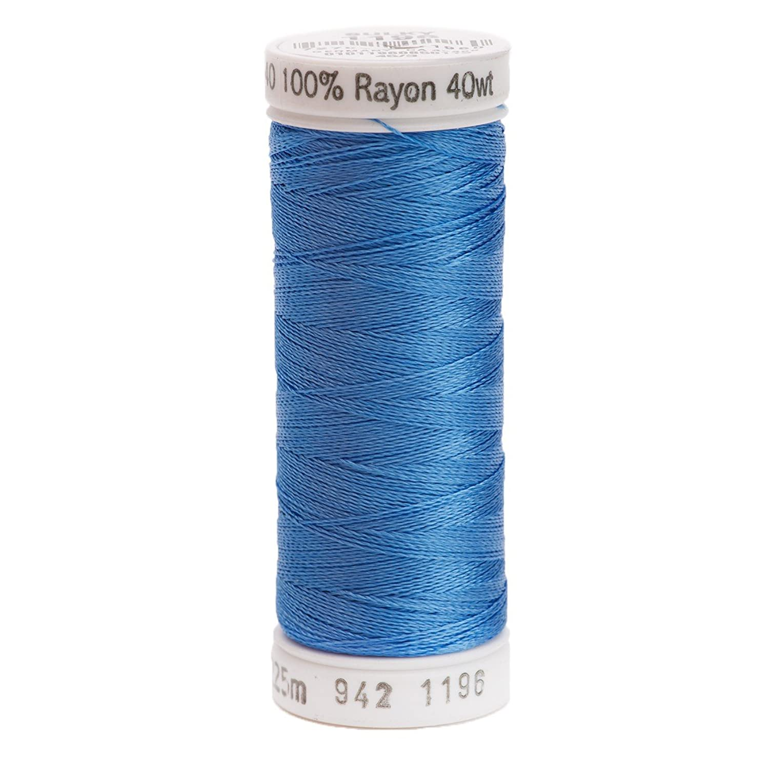 Sulky 942-1196 Rayon Thread for Sewing, 250-Yard, Blue