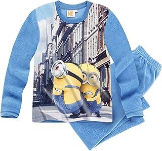 d93fc8f761a21 Minions Despicable Me Garçon Pyjama Microfleece 2016 Collection - bleu