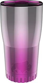 Silver Buffalo NL111095 Ombrà Double Walled Stainless Steel Travel Tumbler, 20-Ounces