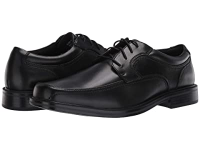 Dockers Manvel Moc Toe Oxford (Black Polished Full Grain) Men