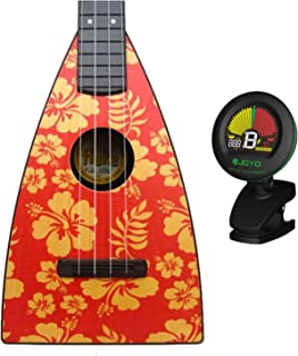 Magic Fluke Designer Aloha Tenor Ukulele w/ Tuner