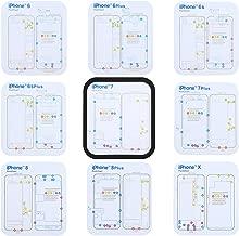 iPartsBuy for iPhone X & 8 & 8 Plus & 7 & 7 Plus & 6s Plus & 6s & 6 & 6 Plus Magnetic Memory Screws Mat, Size: 17.8cm x 15.9cm