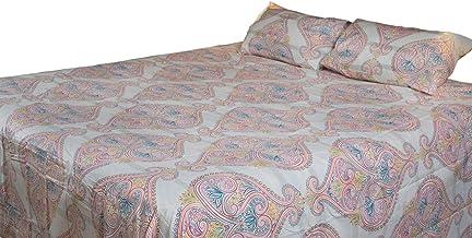 Home Comfort Subtle Luxurious Premium Quality 3 Piece Flat Bed Seet Set Double