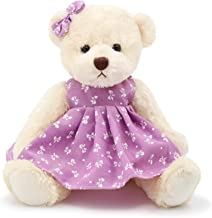 Oitscute Small Baby Teddy Bear with Cloth Cute Stuffed Animal Soft Plush Toy 10