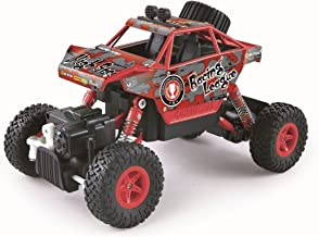 The Flyers Bay Rock Crawler The Mean Machine 1:20 Scale 4 WD Rally Car, Red