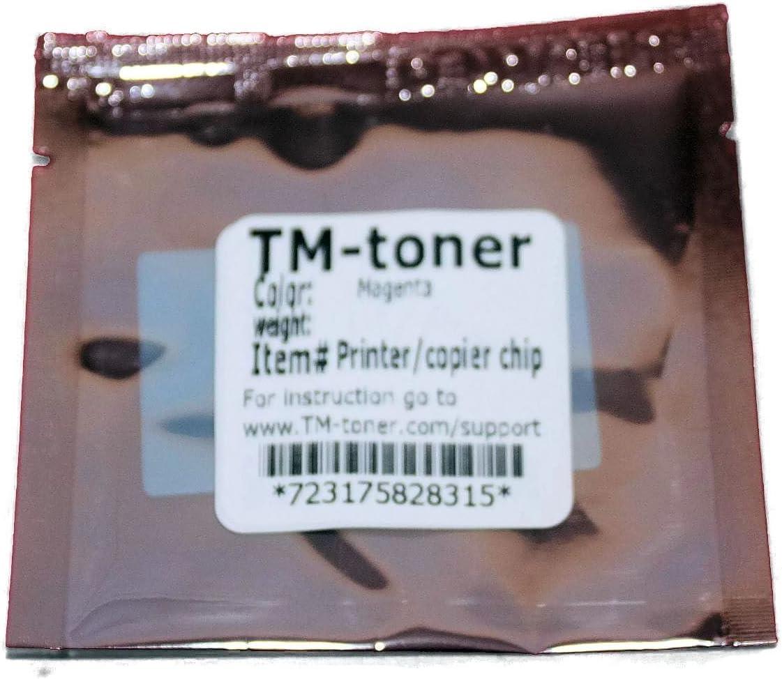 TM-toner Replacement Magenta chip for A0310AF Imaging Unit Konica Minolta Magicolor 4650EN 4650DN 4690MF 5550 5570 5650EN 5670EN printer