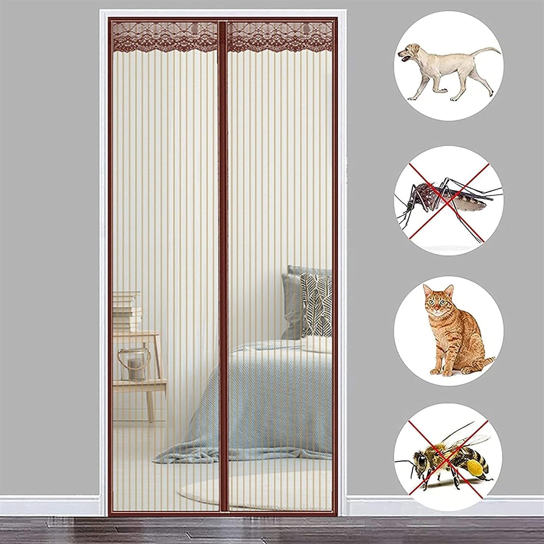 THAIKER Magnetic Fly 5 ☆ popular Ranking TOP7 Insect Screen 49x102inch H 125x260cm Door