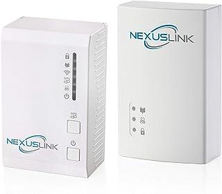 Nexus Link G.hn Powerline Adapter with WiFi N and G.hn Powerline Adapter   1200Mbps I 2-Unit Kit (GPL-1200WN-KIT)