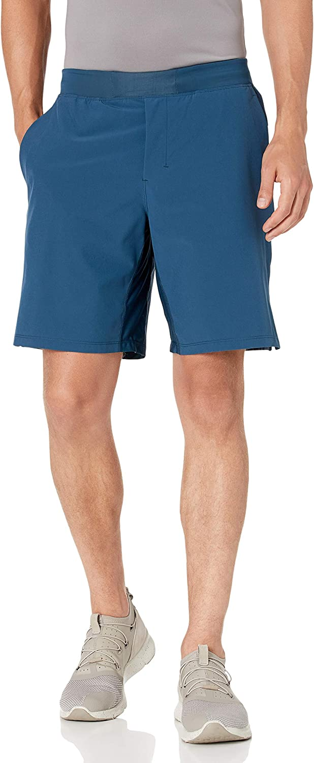 Peak Velocity Men's 9'' Short 40% OFF Cheap Sale Training Knit Spring new work one after another Waistband