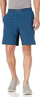 Peak Velocity Amazon Brand Men's 9'' Knit Waistband Training Short with Boxer Brief