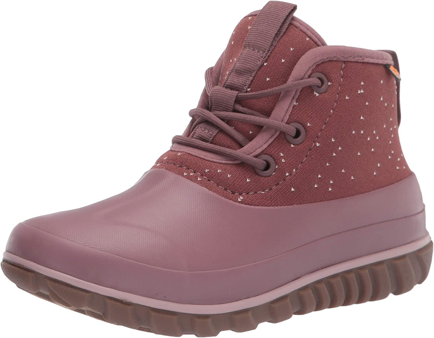 BOGS Women's Classic Casual Lace Speckle Snow Boot