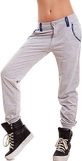 afecb063e0aab0 Toocool - Pantaloni Donna Tuta Cavallo Basso Harem Polsini Dettagli Jeans  Sexy Nuovi K5802