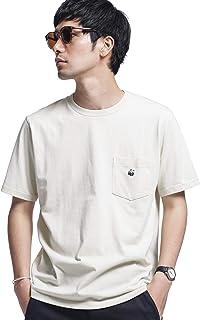 ナノ・ユニバース(nano・universe) WWF PANDA EMB Tシャツ 半袖