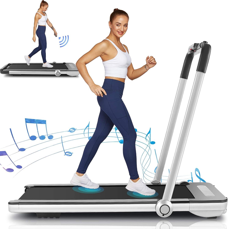 Folding Treadmill Max 49% OFF 2 in 1 Under for Wholesale Home Desk Portable Treadmills