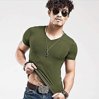 Men's T-shirt Fitness T-shirt Men's T-shirt Men Short Sleeve
