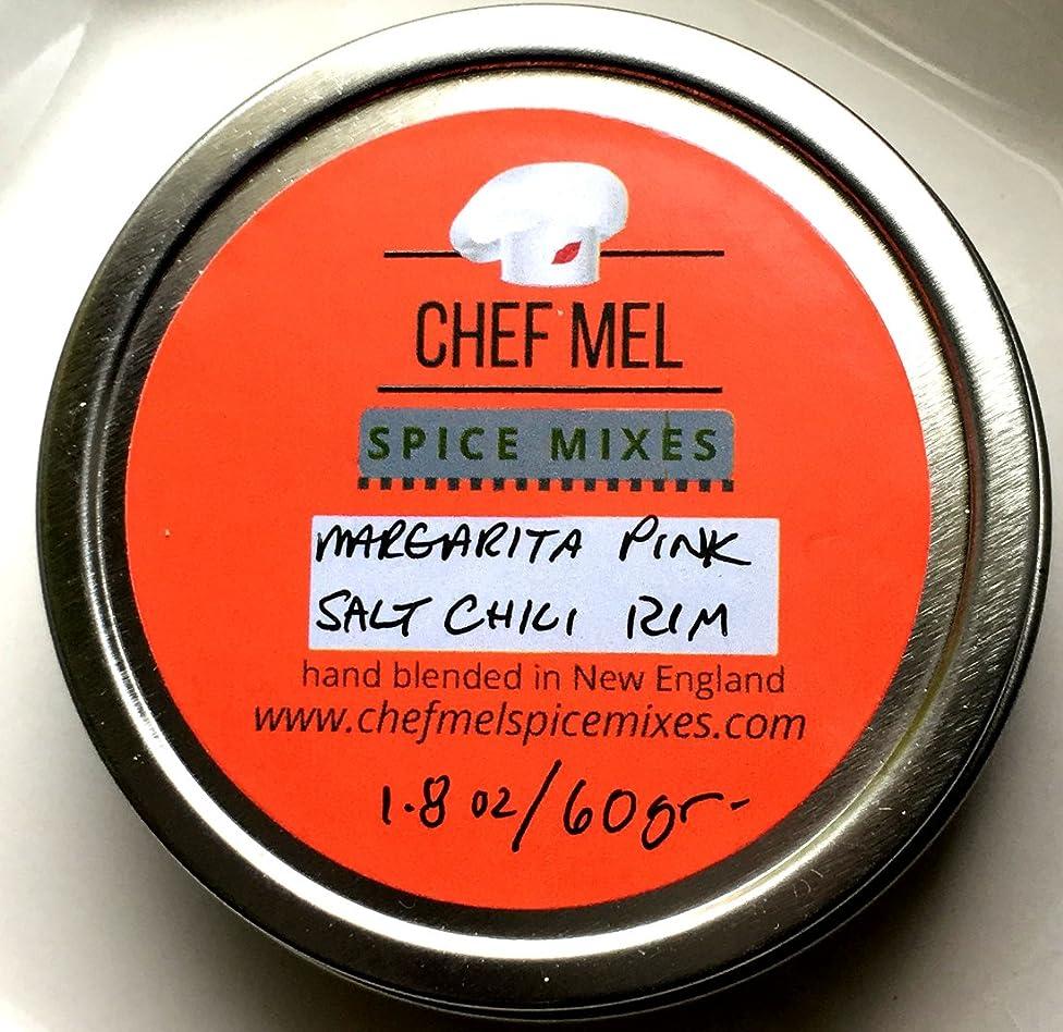Chef Mel Spice Mixes Margarita Pink Salt Chili Cocktail Rim