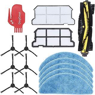 Summerwindy 1 X Cepillo Principal 6 X Cepillo Lateral 2 X Filtro Hepa una Prueba de Polvo para Ilife V7 V7S V7S Pro Robot Aspiradora Repuestos de Repuesto
