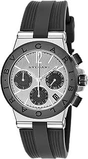 BVLGARI Watch Diagono Black Dial DG37C6SCVDCH