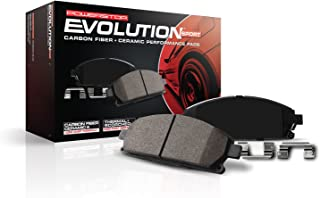 Power Stop Z23-976, Z23 Evolution Sport Carbon-Fiber Ceramic Front Brake Pads