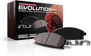 Power Stop Z23-1053,  Z23 Evolution Sport Carbon-Fiber Ceramic Rear Brake Pads