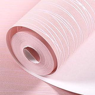 N/V Papel pintado de rayas para el hogar, moderno dormitorio, papel de pared para decoración de sala de estar rollo adhesi...