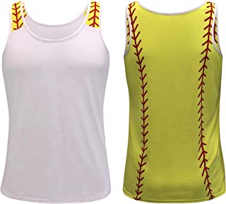 Best Sports Tank Tops for Mom Fans Apparel Baseball Softball Basketball Soccer Volleyball Review