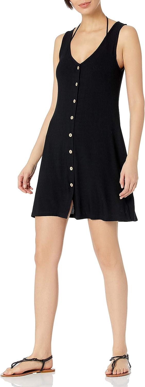 Body Glove Women's Standard Cora Sleeveless V-Neck Cover-up Dress