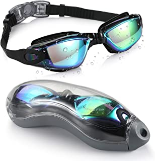 aegend Swim Goggles, Swimming Goggles No Leaking Anti Fog...