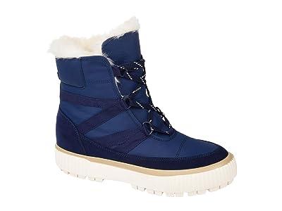 Journee Collection Comfort Foamtm Slope Winter Boot (Navy) Women