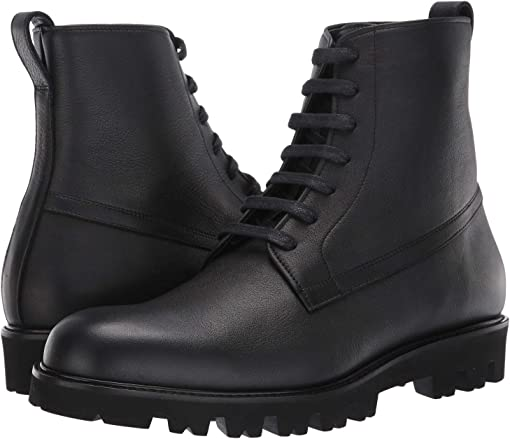 Black Yak Calf Leather