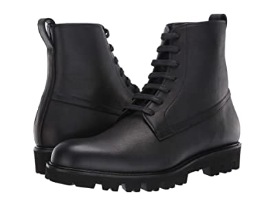Vince Commander (Black Yak Calf Leather) Men