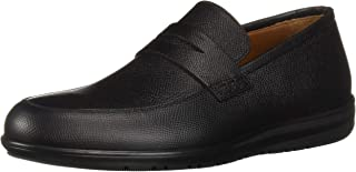 Aquatalia by Marvin K. Men's Nathan Mini Tumb Embosed CLF Loafer,