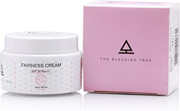 The Blessing Tree Fairness Cream with SPF 30 PA+++. No paraben, no mineral oil. 50ml