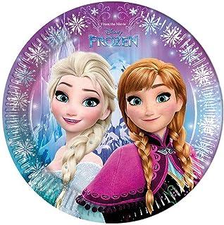 PROCOS Disney Frozen Plates, Multi-Colour, 46775