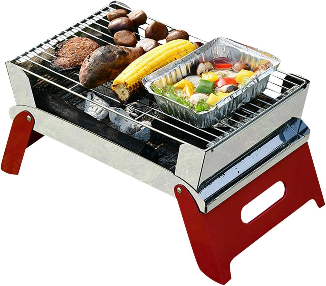 AEZON Stainless Steel BBQ Foldable Low price Camping Grill New life Convenien