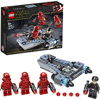 LEGO 75266 Star Wars Sith Troopers Battle Pack Playset with Battle Speeder, The Rise of Skywalker Movie Collection