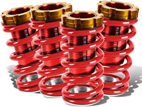 DNA Motoring COIL-HC88-T11-RD Coil Over Sleeve Kits