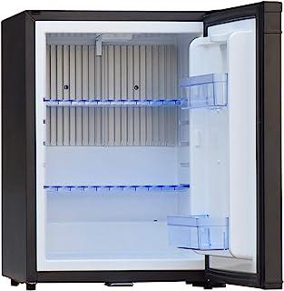 SMAD 12V Compact Mini Fridge Quiet No Noise Refrigerator with Lock 40L 1.4 cu.ft, Black