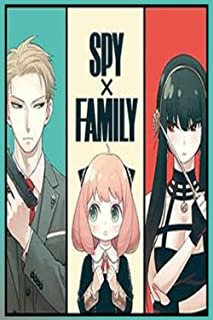 Spy x Family notebook: Personal Journal To Write In for anime lovers, Lined College Ruled Paper, Perfect Size 6*9 Inch, 20...