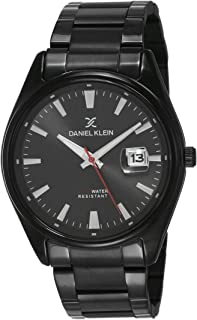 Daniel Klein Analog Black Dial Men's Watch-DK12109-3