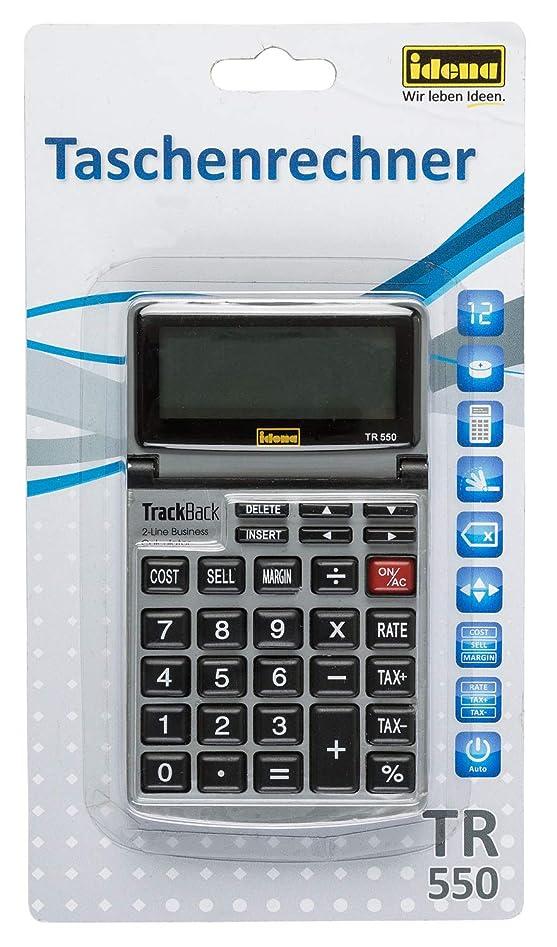 インタビュー変色する義務付けられたIDENA 13200 550、12桁表示のビジネス505276電卓