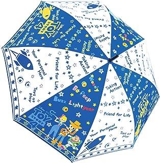 ディズニー 長傘 子供用 ジャンプ キャラクター 生地傘 トイストーリー ブルーポップ 53cm 35114