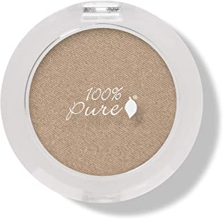 (Gilded) - 100% PURE Pressed Powder Eye Shadow (Fruit Pigmented), Gilded, Shimmer Eyeshadow, Buildable Pigment, Easy to Ap...