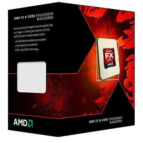 AMD FD8300WMHKBOX CPU Procesador  - Black  (Vishera 8-Core, 3.3 GHz, Socket AM3+, 95 Watts)