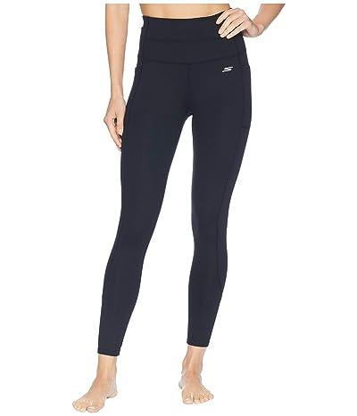 SKECHERS Go Walk Go Flex 7/8 High-Waisted Backbend Leggings (Black) Women