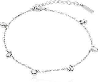 Mestige Women Glass Alina Anklet with Swarovski Crystals