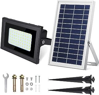 SunBonar 60LED Solar Flood Light 500Lumens Solar Lights Outdoor IP67 Solar Flood Lights Outdoor for Patio Deck Lawn Garden Backyard …